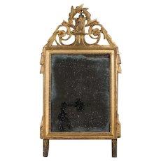 19th c. Louis XVI Style Gilded Mirror