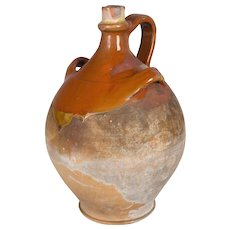 19th c. French Terracotta Jug