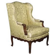 19th c. Louis XV Style Bergere