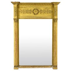 19th c. French Empire Style Mirror