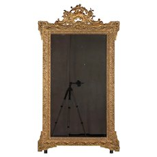 French Louis XV Style Gilded Mirror