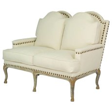 19th c. Louis XV Style French Settee
