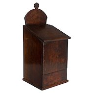 19th c. French Boite à Sel, or Salt Box