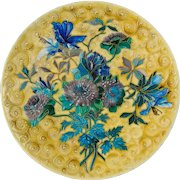 19th c. French Faience Platter