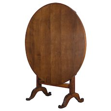 French Tilt Top Table