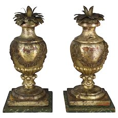 Pair of 19th c. Italian Candlesticks