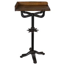 19th c. French Industrial Cast Iron Table