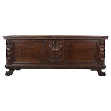 18th c. Italian Cassone or Chest