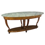 Italian Marble Top Center Table