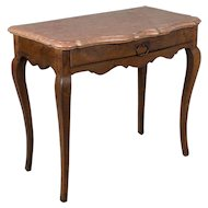 18th c. Louis XV Marble Top Console Table