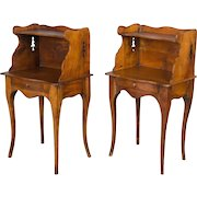 Pair of Louis XV Style Side Tables