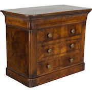 19th c. Louis Philippe Miniature Commode