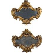 Pair of 18th c. Italian Mirrors