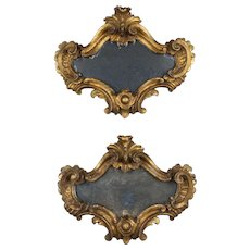 Pair of 18th c. Italian Mirrors