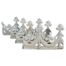 18th c. French Zinc Roof Decoration