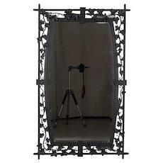 French Wrought Iron Mirror