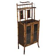 19th c. English Bamboo Cabinet
