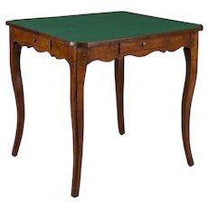 19th Century French Game Table