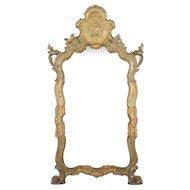 19th c. Venetian Painted Mirror