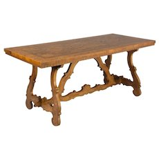 Spanish Baroque Style Center Table