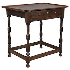 18th c. Louis XIII Style Side Table