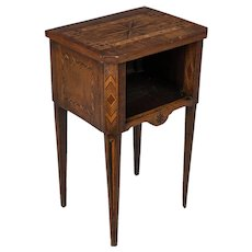 French Marquetry Side Table