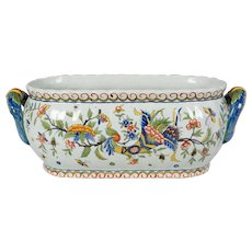 French Desvres Faience Jardiniere