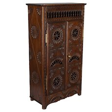 French Miniature Brittany Armoire