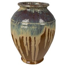 French Beauvais Pottery Vase