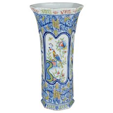 19th C. French Desvres Vase