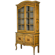 19th c. French Louis XV Style Vitrine