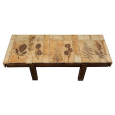 Roger Capron Ceramic Coffee Table