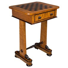 19th c. English Game Table