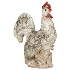 French Garden Rooster