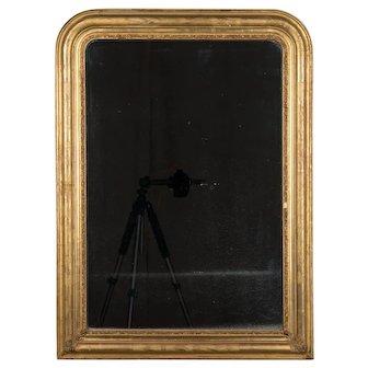 19th c. Louis Philippe Gilded Mirror