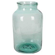 French Glass Jar