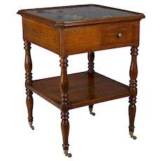 19th Century Louis Philippe Rafraichissoir or Side Table