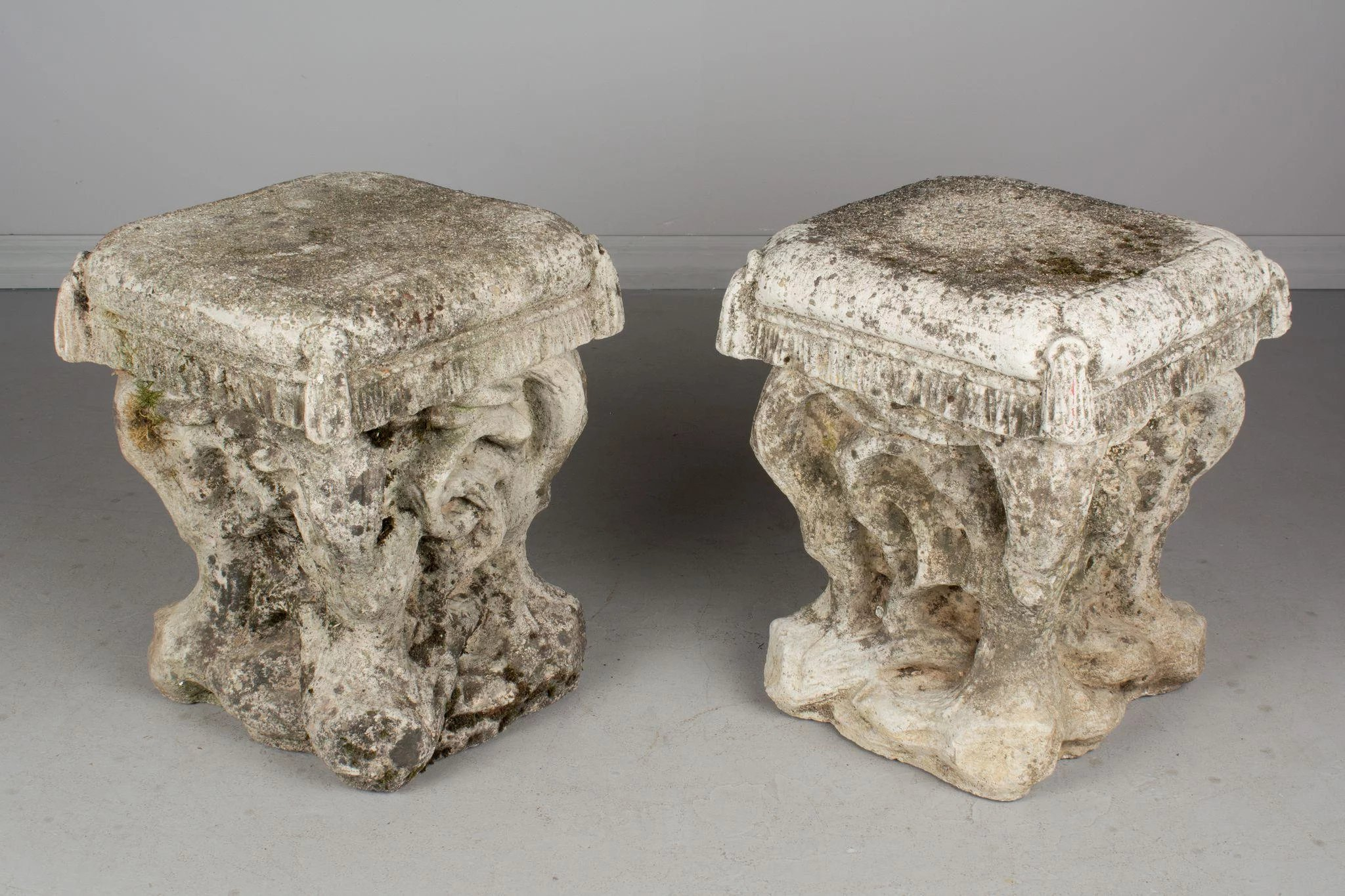 ... Stone Garden Stools. Click To Expand