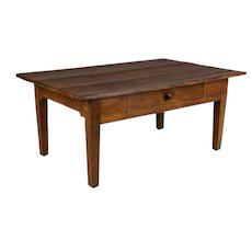 19th c. Country French Coffee Table