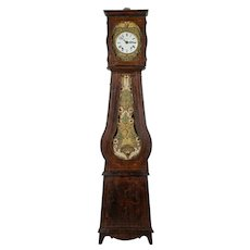 19th Century Country French Grandfather Clock