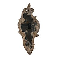 19th Century Italian Carved Wood Mirror