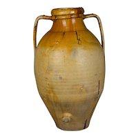 Large 19th c. Italian Terracotta Urn