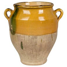 French Terracotta Confit Pot