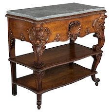 19th c. Louis XV Style Belgian Console