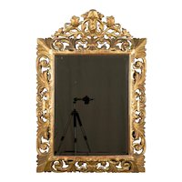19th Century French Baroque Style Gilded Mirror