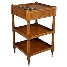 Louis Philippe Style Rafraichissoir Side Table