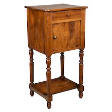 Country French Cherry Side Table or Night Stand