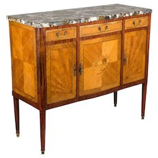 Louis XVI Style French Marquetry Sideboard