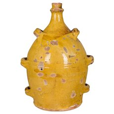19th Century French Terracotta Pottery Jug