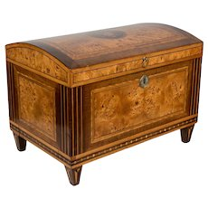 19th Century Italian Marquetry Box